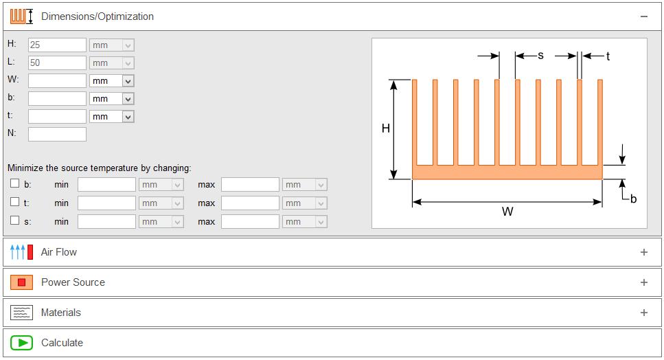 HeatSinkCalculator_Dashboard