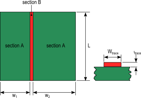 Sections_used_to_approximate_trace_ambient_thermal_resistance